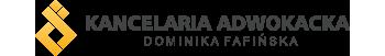 logo ciemne adwokat fafińska